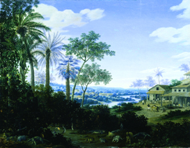Frans Post, Sugar mill in Brazil. Dublin, National Gallery of Ireland
