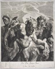 Jonas Suyderhoef after Rubens, Drunken Silenus. Los Angeles, J. Paul Getty Museum