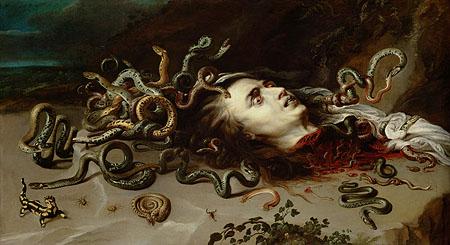 Peter Paul Rubens, The head of Medusa, 1615. Vienna, Kunsthistorisches Museum