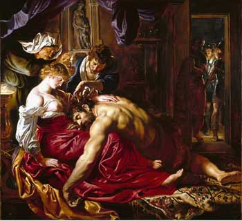 Peter Paul Rubens, Samson and Delilah, ca. 1610. London, National Gallery