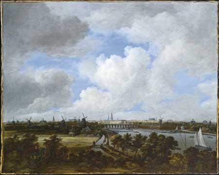 Jacob van Ruisdael. View of Amsterdam. Amsterdam, Amsterdams Historisch Museum