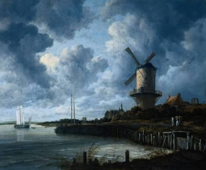 Jacob van Ruisdael, The windmill at Wijk bij Duurstede, ca. 1670, Amsterdam, Rijksmuseum