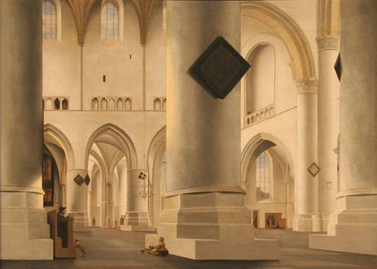 Pieter Saenredam, View across the choir of the St. Bavokerk, Haarlem. National Gallery London