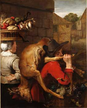 Frans Snyders, Peasants on the way to market. Prague, National Gallery