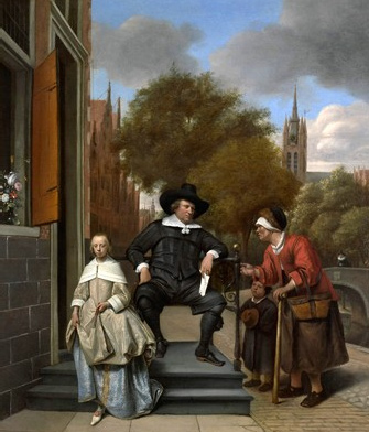 Jan Steen, The co-called Burgomaster of Delft, ca. 1655. Amsterdam, Rijksmuseum