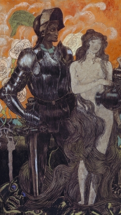Jan Toorop, Aurore, 1892.Rotterdam, Museum Boijmans Van Beuningen