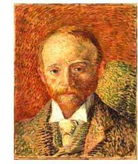 Vincent van Gogh, Portrait of Alexander Reid, 1887, Glasgow Museums