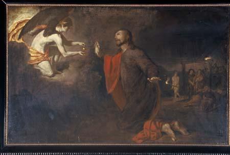 Adriaen van de Velde, Christ in the Garden of Gethsemane. Amsterdam, Augustinuskerk