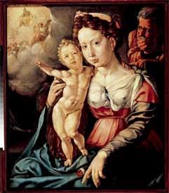 Jan Cornelisz. Vermeyen, Holy Family, ca. 1528. Haarlem, Frans Hals Museum