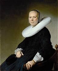 Johannes Verspronck, Woman in chair. Frankfurt, Städel Museum