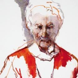 Kees Verwey, Portrait of Charlotte van Pallandt, 1963