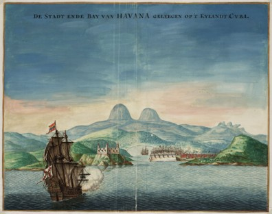 Johannes Vingboons, The bay and city of Havana, Cuba, ca. 1665. The Hague, National Archive