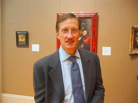 Walter Liedtke, Metropolitan Museum of Art, September 2006. Photo: Gary Schwartz