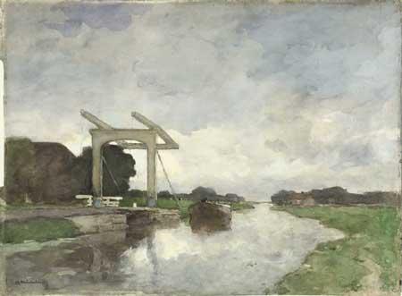"""J.H. Weissenbruch, Drawbridge at Norden. Amsterdam, Rijksmuseum<br /> title=""""J.H. Weissenbruch, Drawbridge at Norden. Amsterdam, Rijksmuseum""""<br /> width=450></p> <p class="""