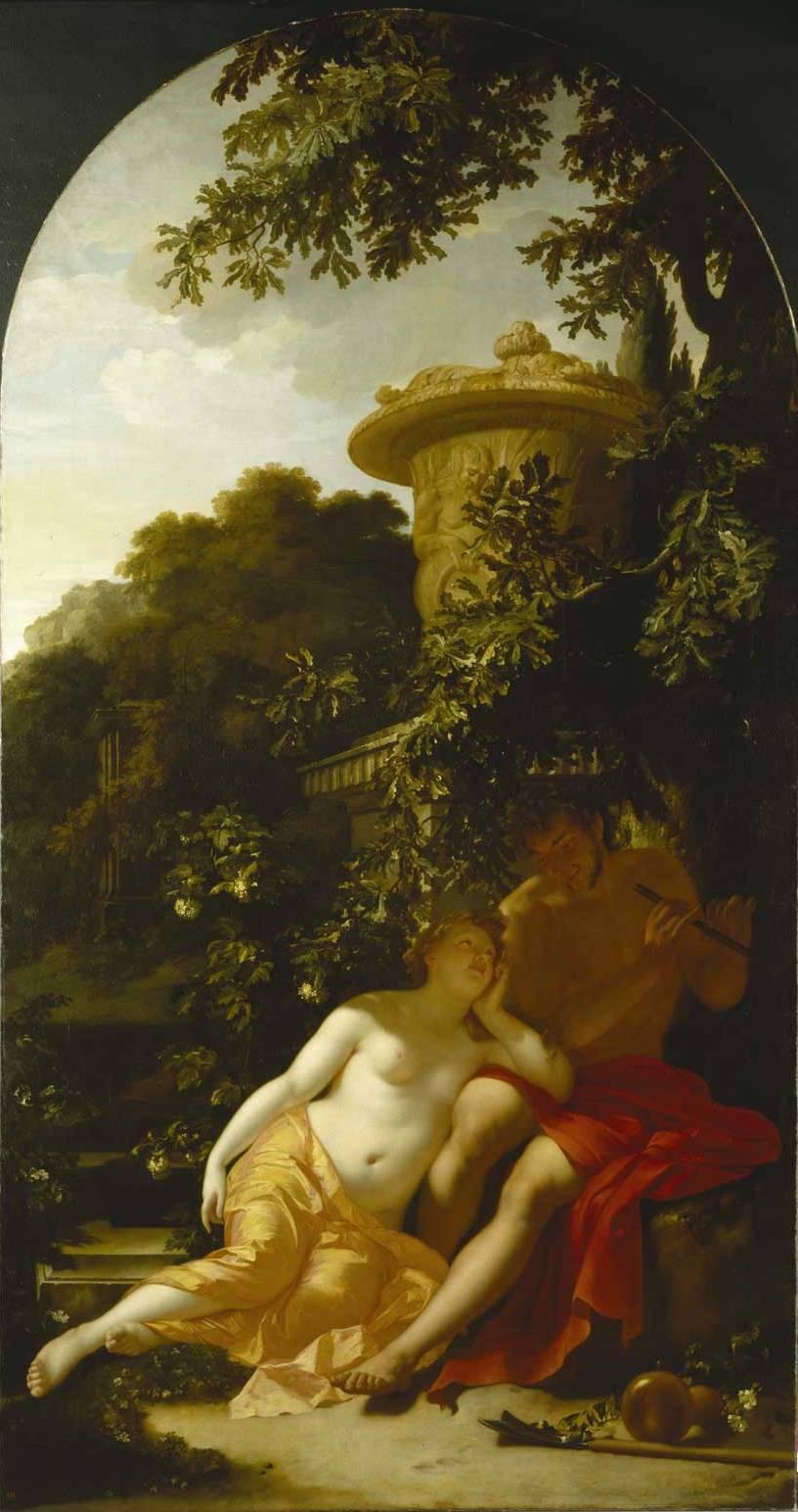 Adriaen van der Werff, Shepherd and shepherdess, ca. 1696. Kassel, Gemäldegalerie Alte Meister