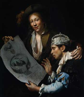Jan van Wijckersloot, Allegory of the Disaster Year 1672