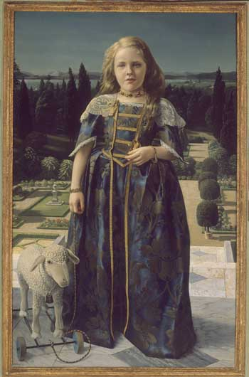 Carel Willink, Girl in Renaissance costume. ING Bank collection