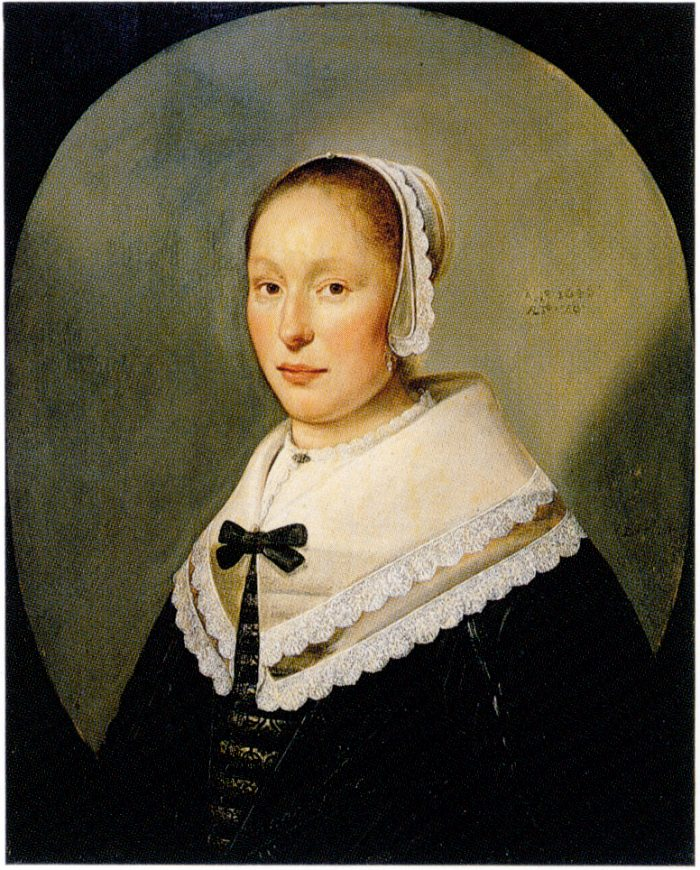 Pieter de Putter (1606-1659), Portrait of a woman (oil on canvas) Cape Town, Michaelis Collection