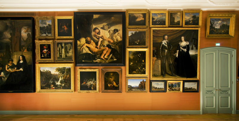 Interior of the Prince William V Gallery, The Hague