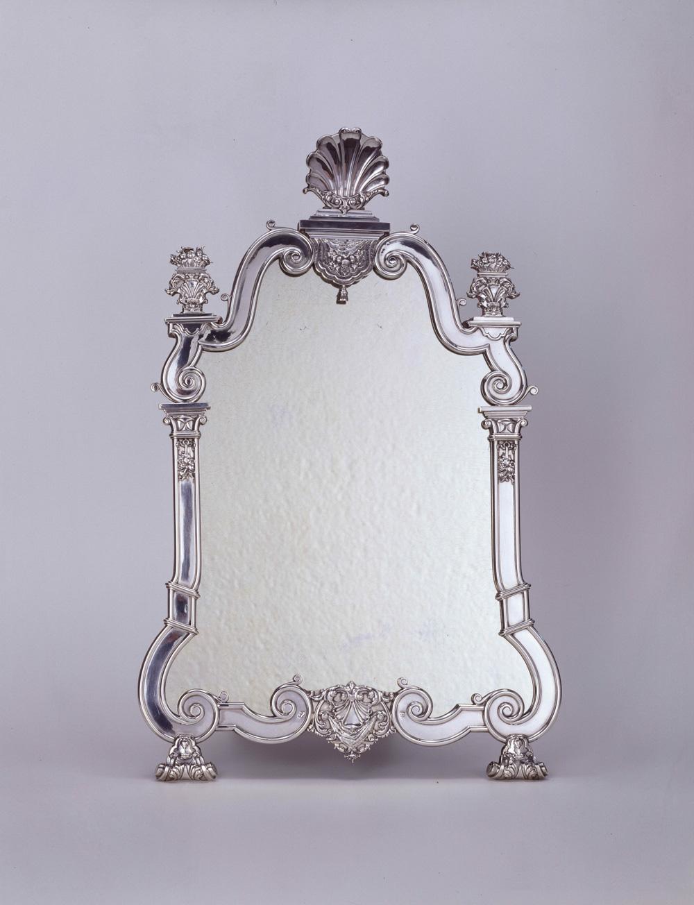 Fig. 6 Hendrik Fortman (1715-1807), Toilet Mirror, 1750Museum De Lakenhal, Leiden, inv. no. 9036