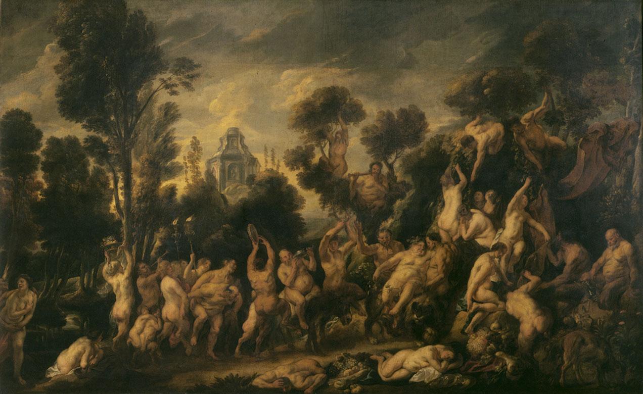 Jacob Jordaens (1593-1678), The Triumph of Bacchus, ca. 1645-50, Royal Museums of Fine Arts of Belgium, BrusselsPhoto: d'art Speltdoorn & Fils © KMSKB – MRBAB