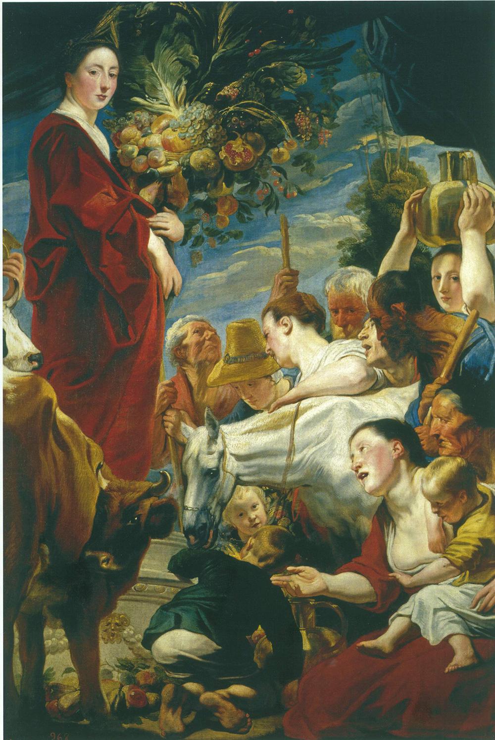 Jacob Jordaens (1593-1678), Homage to Ceres, ca. 1624-25© Museo Nacional del Prado, Madrid