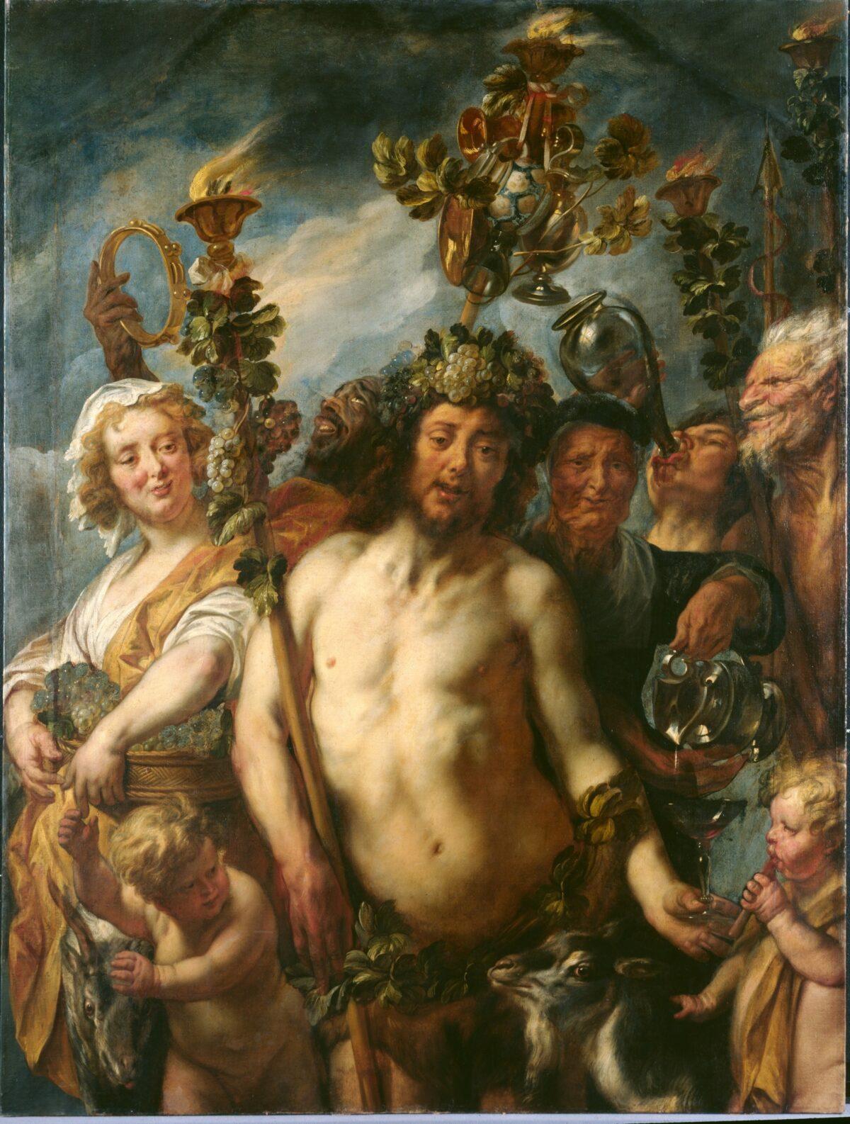 Jacob Jordaens (1593-1678), The Triumph of Bacchus, ca. 1645, Staatliche Gemäldegalerie, Kassel © Museumlandschaft Hessen Kassel