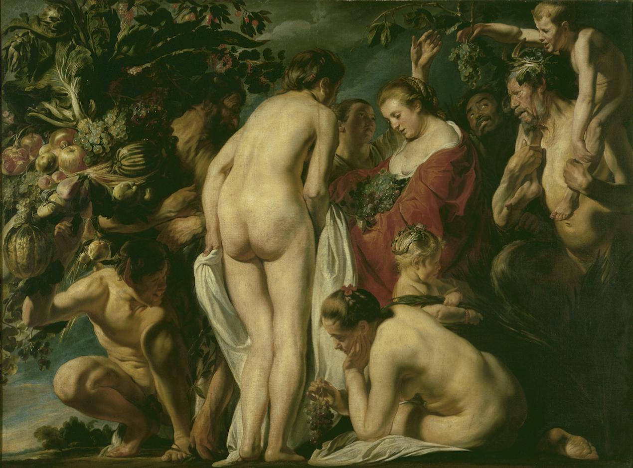Jacob Jordaens (1593-1678), <em>Allegory of Fertility</em>, ca. 1623, Royal Museums of Fine Arts of Belgium, Brussels<br>Photo: J. Geleyns / www.roscan.be / © KMSKB – MRBAB