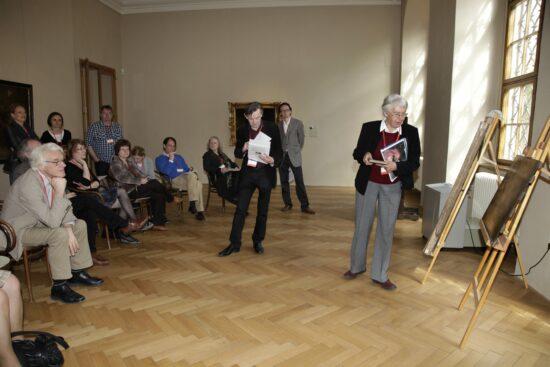 Workshop on unattributed paintings led by Rudi Ekkart