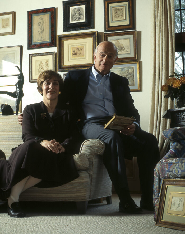 Portrait of Maida and George Abrams