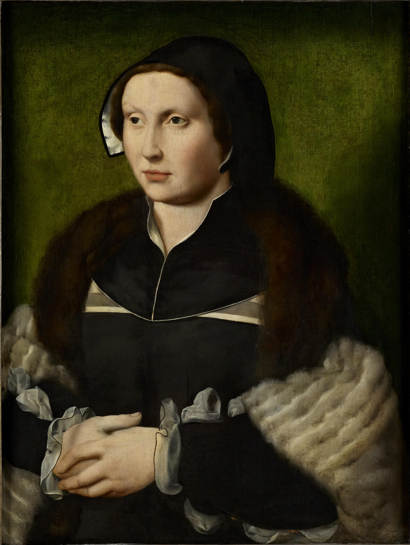 Joos van Cleve (1485-1540/41), Portrait of a Lady, ca. 1530 oil on oak panel, 64.5 x 48.4 cm The Bute Collection at Mount Stuart