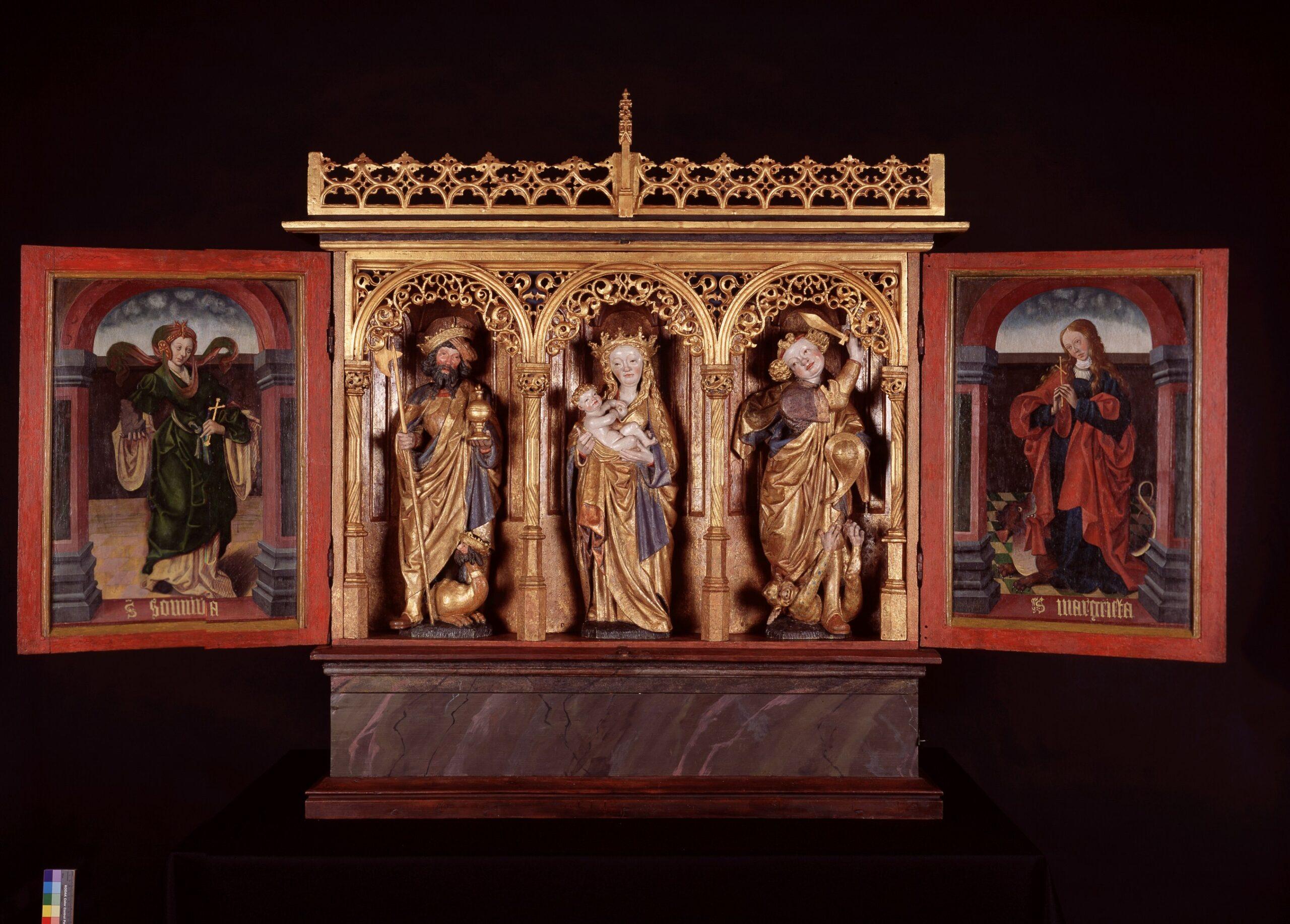Master of the Utrecht Female Head of Stone, <em>The Leka Retable</em>, ca. 1520-30<br /> Leka church, Leka (Norway)