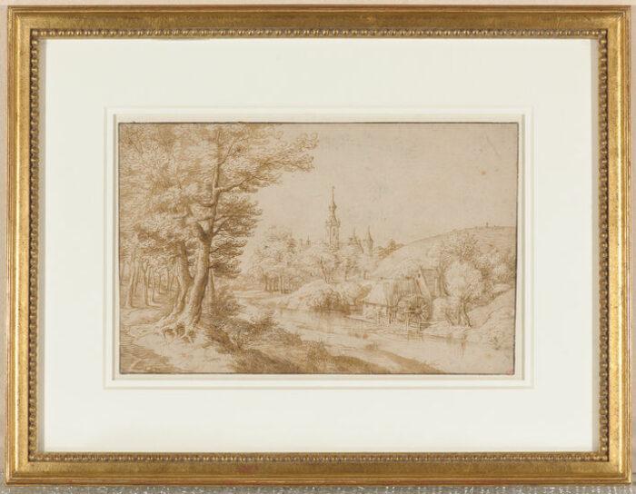 Anonymous (Flemish), <em>Wooded Landscape</em><br>Collection of Thomas Leysen