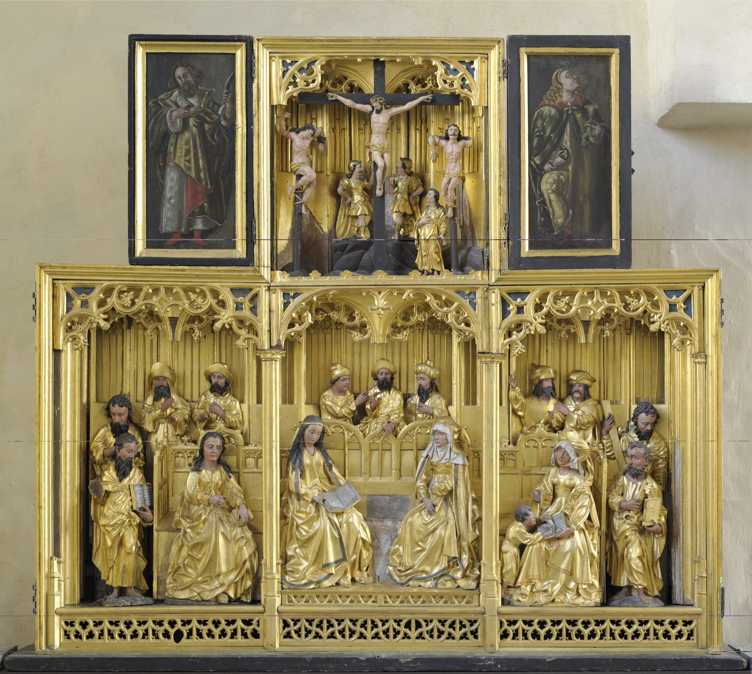 Brussels workshop, The Holy Kinship Altarpiece, ca. 1500Art Museum of Estonia