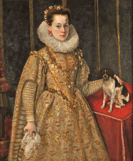 Federico Zuccaro (ca. 1540/41-1609), <em>Portrait of Margaret of Savoy (1589-1655)</em><br>Collection Thomas Leysen