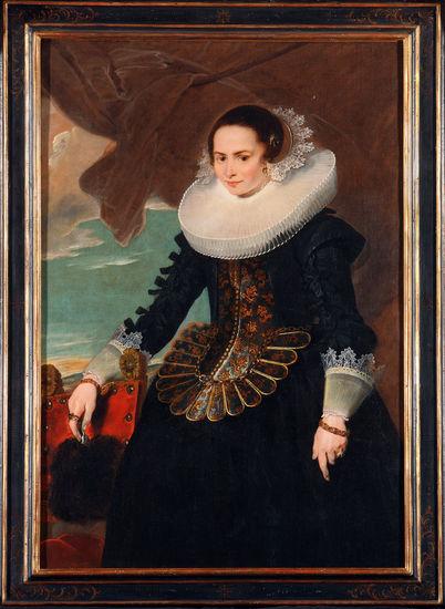 Cornelis de Vos (1584/85-1651), <em>Portrait of a woman</em><br>Collection Thomas Leysen
