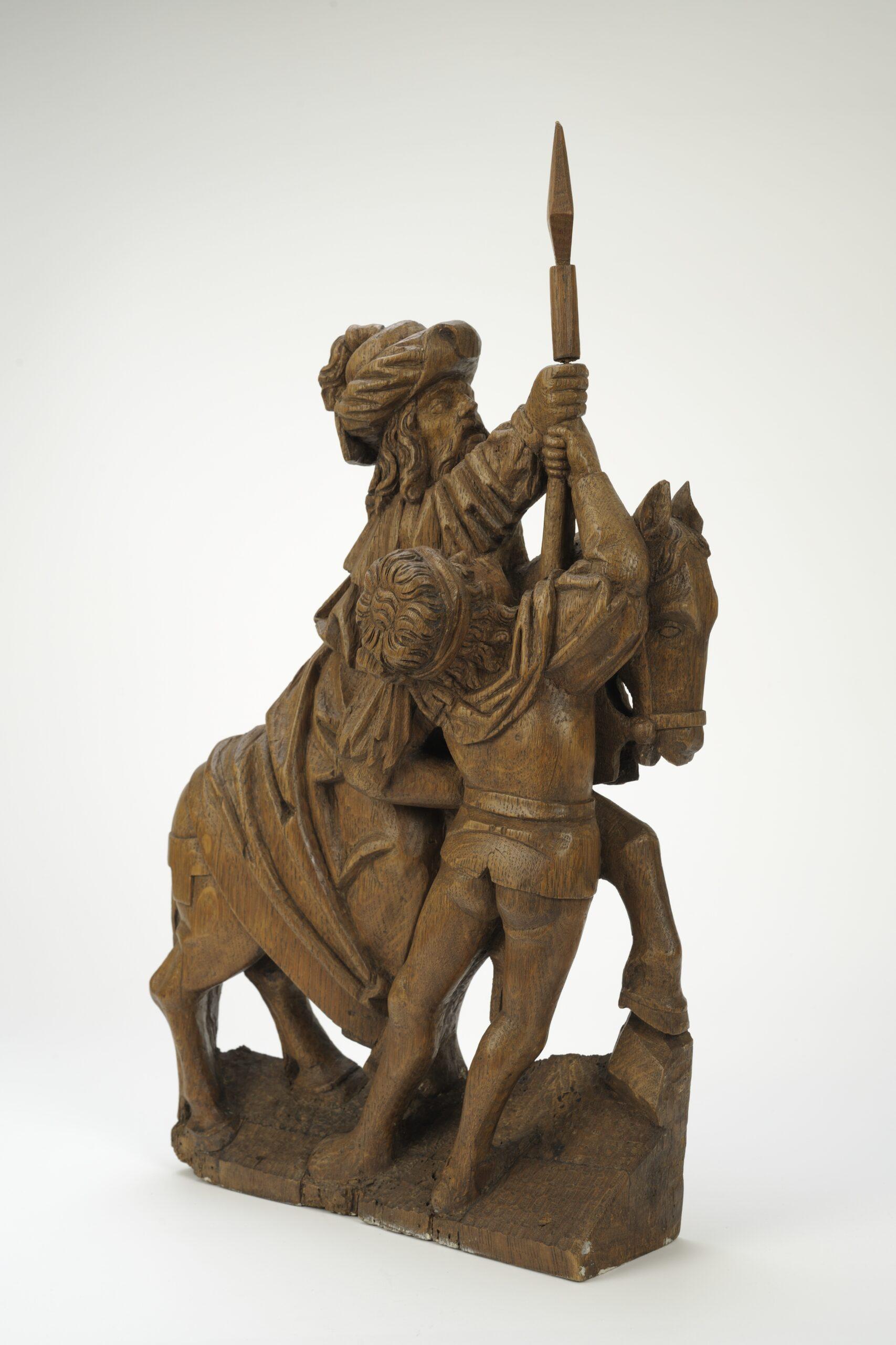 Southern Netherlandish workshop, Two Horsemen and Longinus, early 16th centuryArt Museum of Estonia