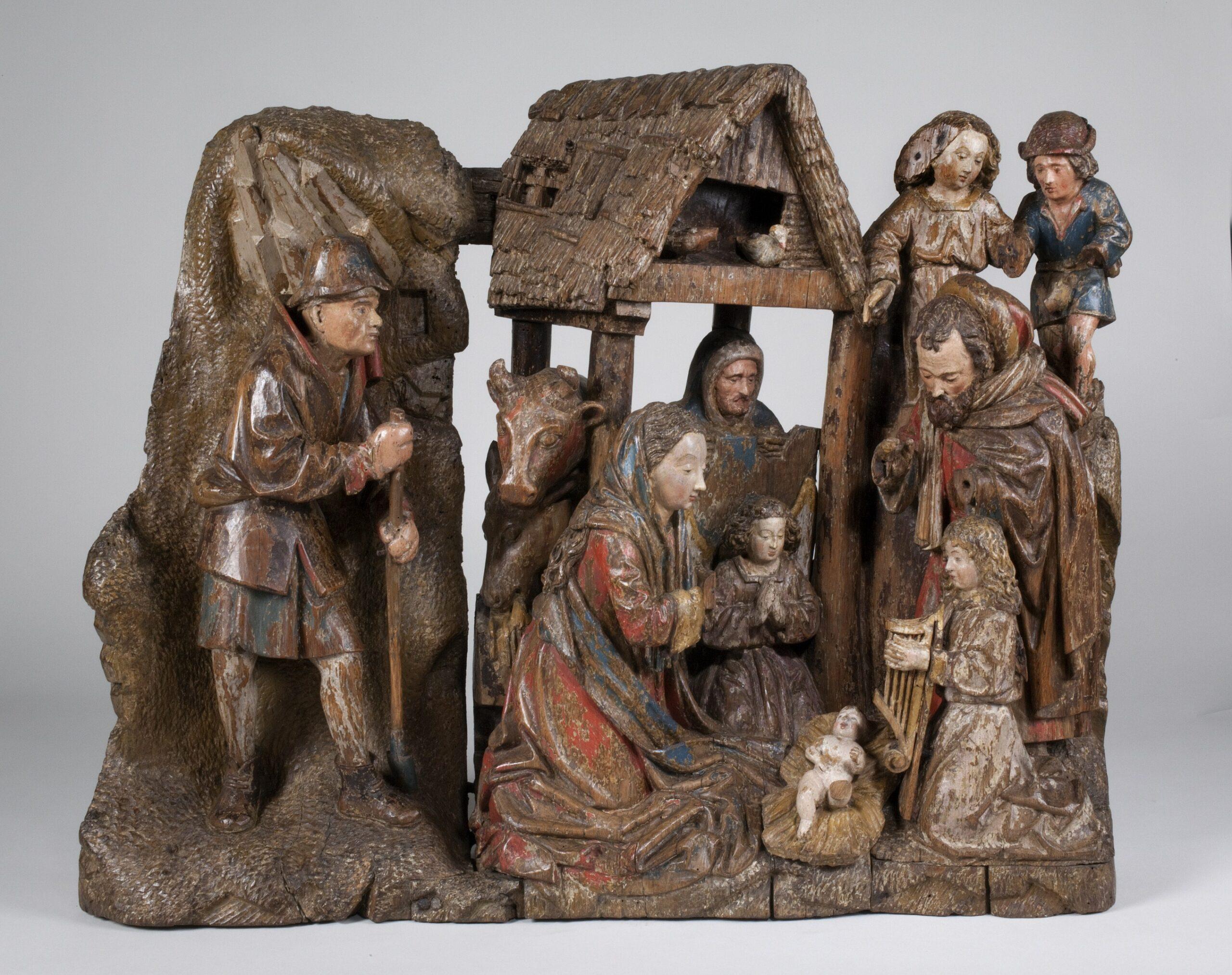 The Adoration of the Shepherds, Utrecht, ca. 1490-1500Museum Catharijneconvent, Utrecht