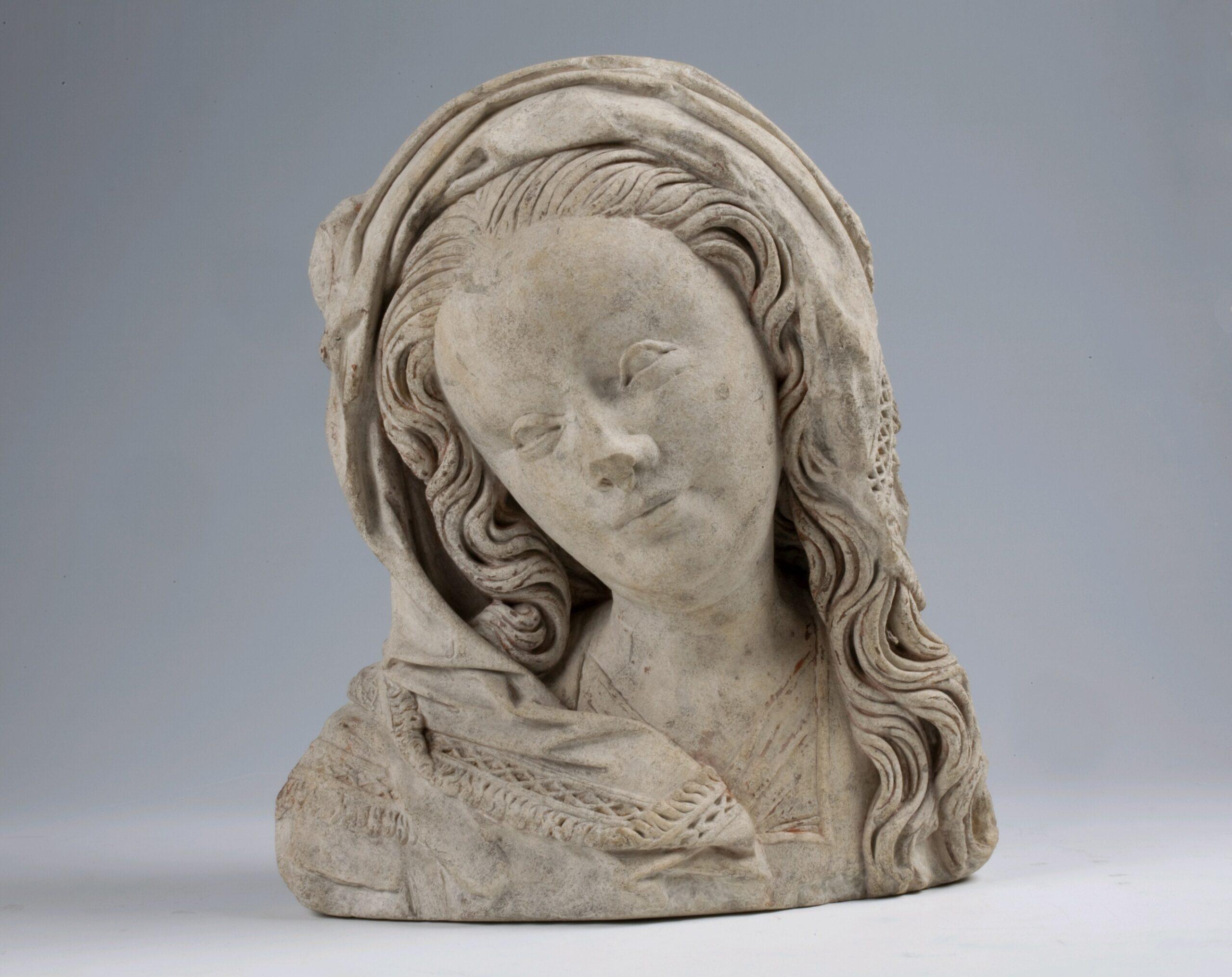 Master of the Utrecht Female Head of Stone, <em>Stone female head</em>, first quarter sixteenth century<br/> Utrecht, Museum Catharijneconvent