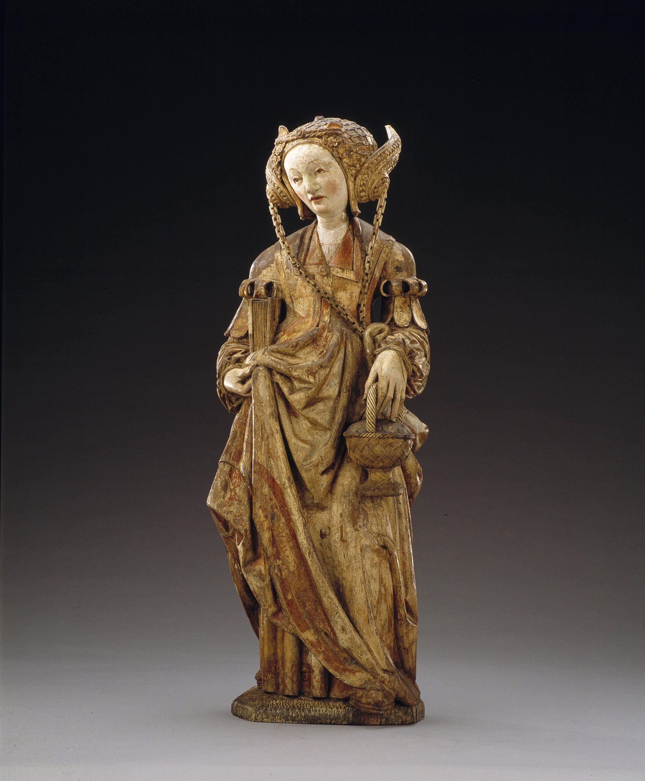 Master of the Utrecht Female Head of Stone, <em>Saint Dorothea</em>, ca. 1520-30<br/> Suermondt-Ludwig-Museum, Aachen