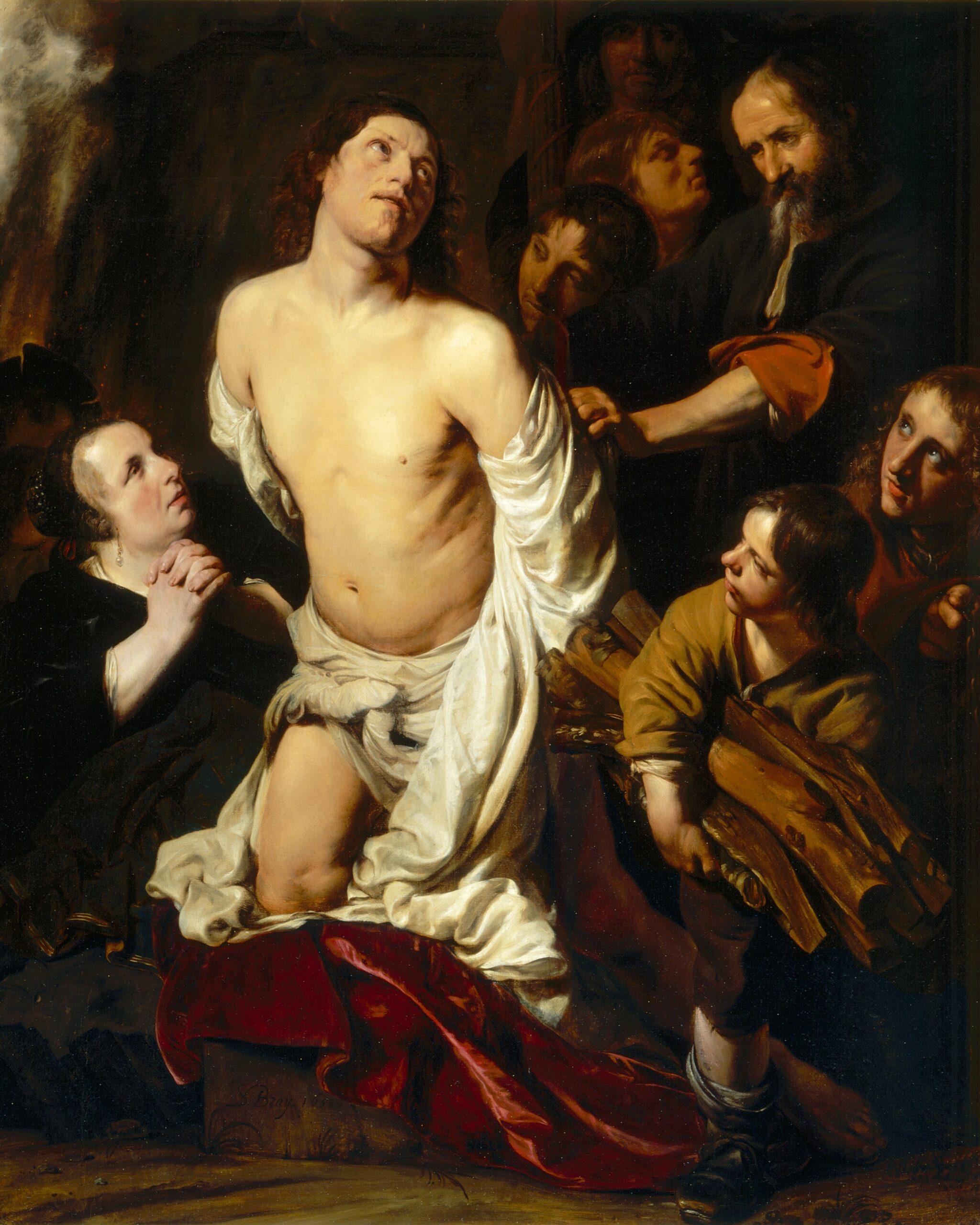 Salomon de Bray (1597-1664), <em>The Martyrdom of Saint Lawrence</em>, 1652<br>Los Angeles County Museum of Art, Los Angeles © LACMA