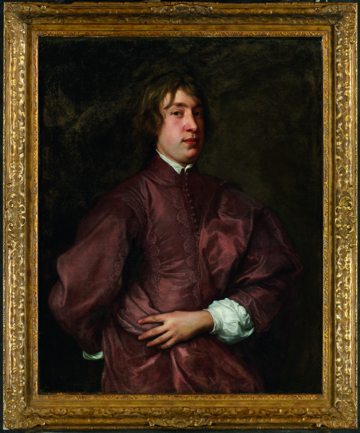 Anthony van Dyck (1599-1641), <em>Portrait of Everhard Jabach</em>, ca. 1636-7<br>Musée du Louvre, Paris, on loan from the collection of Thomas Leysen