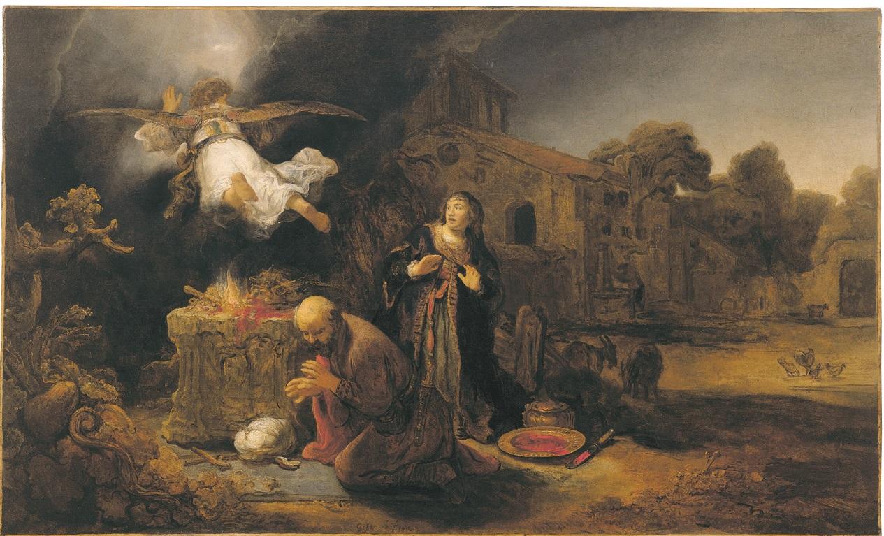 Govert Flinck (1615-1660), <em>The Sacrifice of Manoah</em>, 1640 Gift of Alfred and Isabel Bader The Agnes Etherington Art Centre, Kingston