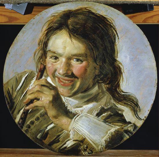 Frans Hals (1582-1666), <em>Smiling Boy with a Flute</em><br>© Staatliches Museum Schwerin Photo: Elke Walford