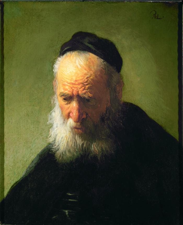 Rembrandt Harmensz van Rijn (1606-1669), <em>Head of an Old Man in a Cap</em>, c. 1630, Gift of Alfred and Isabel Bader, The Agnes Etherington Art Centre, Kingston