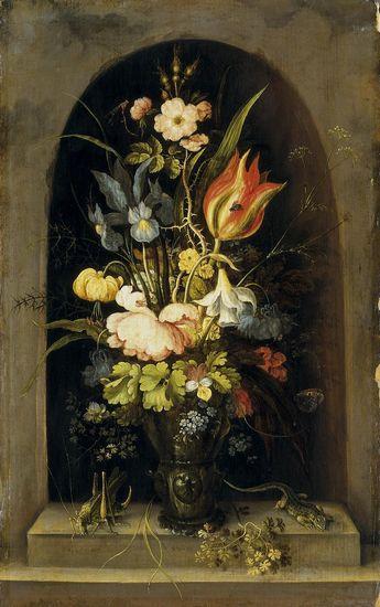 Roelant Savery (1576-1639), <em>Flowers </em><br>© Staatliches Museum Schwerin Photo: Elke Walford