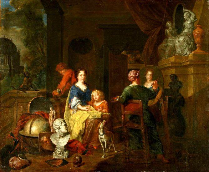 Balthasar van den Bossche (1681-1715), Painter's Workshop OMSK M.A. Vrubel Museum, Omsk, Russia