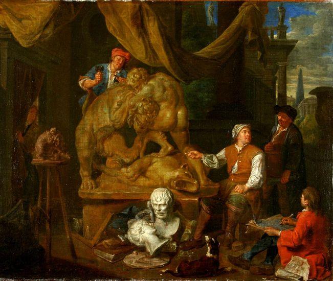 Balthasar van den Bossche (1691-1715), Sculptor's Workshop OMSK M.A. Vrubel Museum, Omsk, Russia