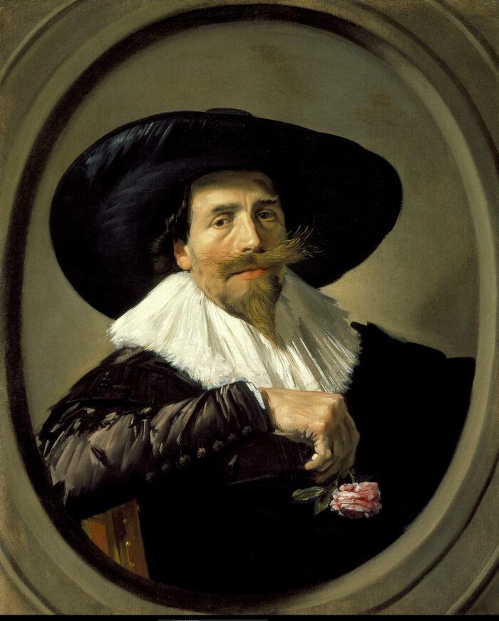 Frans Hals (1582/83-1666), <em>Portrait of Pieter Tjarck</em>, ca. 1635-38<br>LACMA, Los Angeles