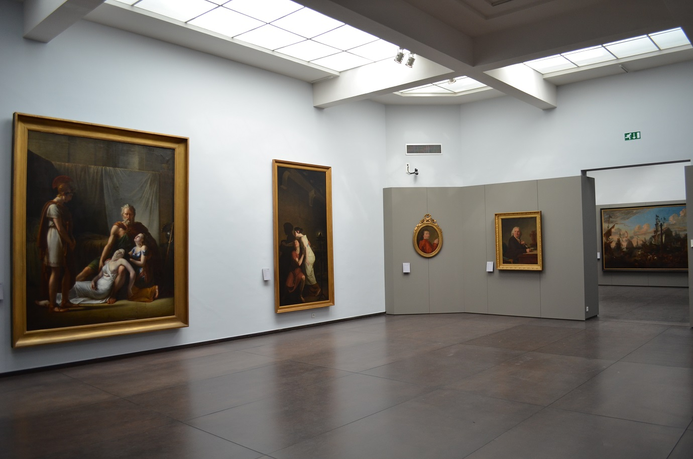 Musea Brugge - Groeningemuseum, Room 6, Neoclassicism in Bruges<br/> © Musea Brugge